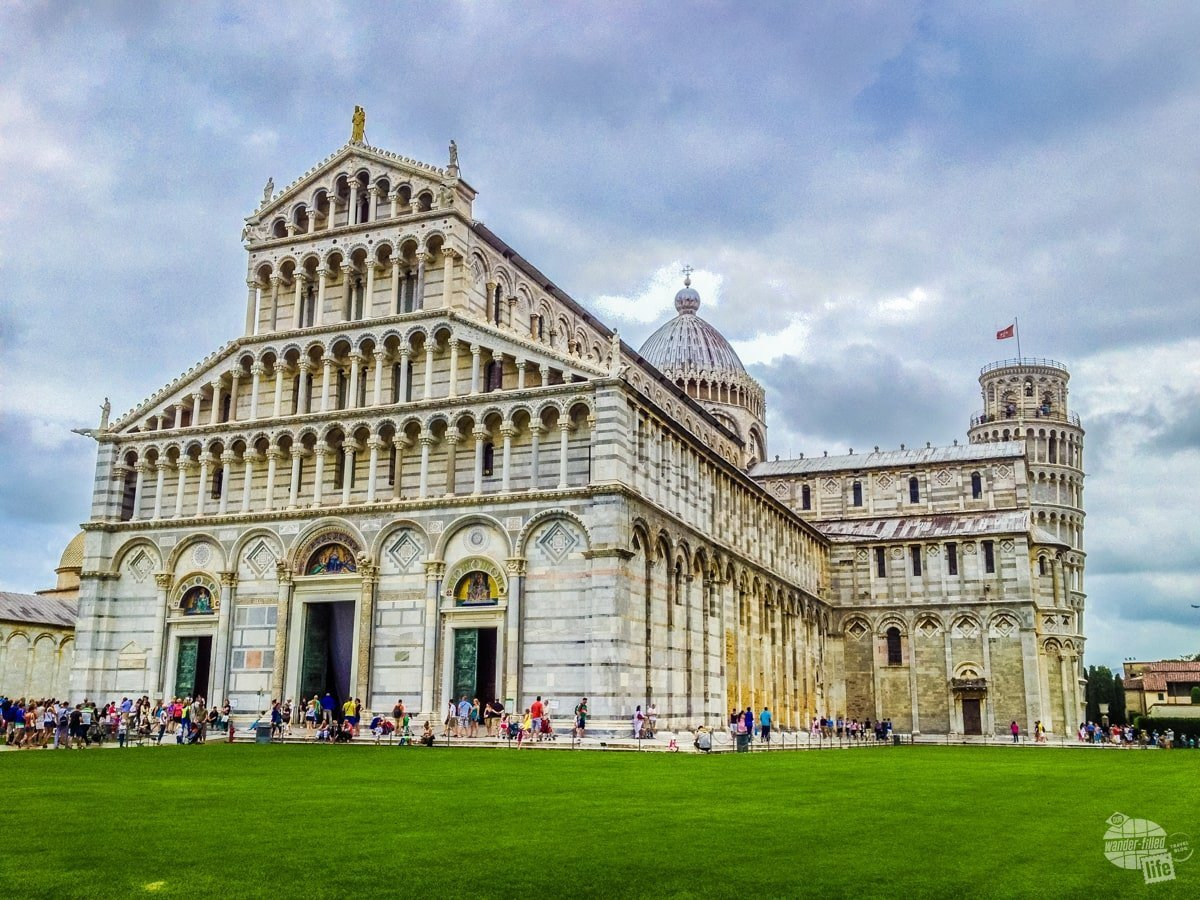 There is more to the Piazza dei Miracoli in Pisa than just the Leaning Tower.