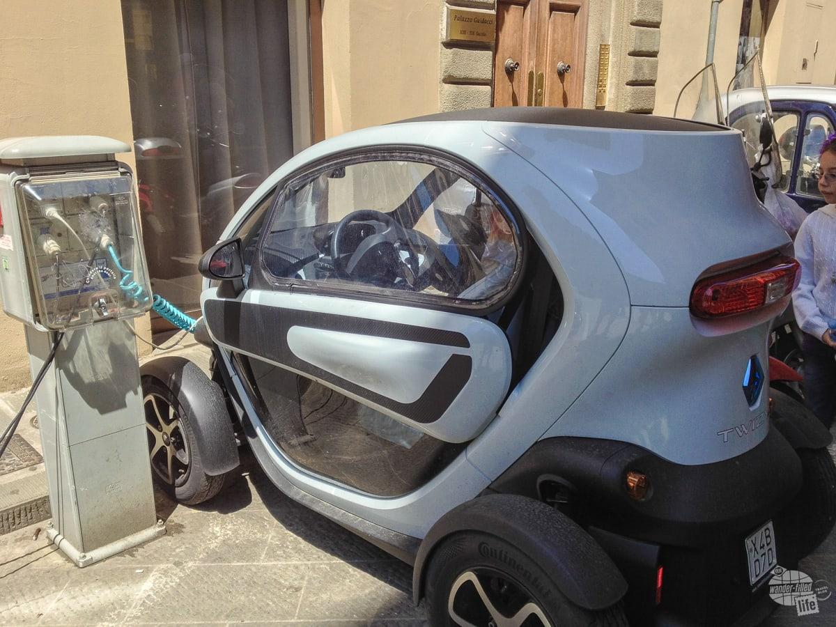 Tiny car in Italy