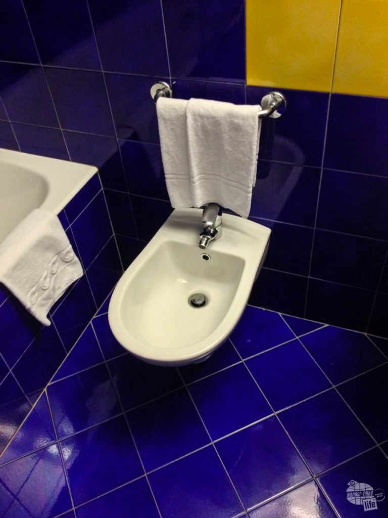 A bidet for every traveler in Italy.