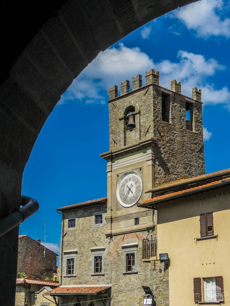 The Bell Tower in Cortona.
