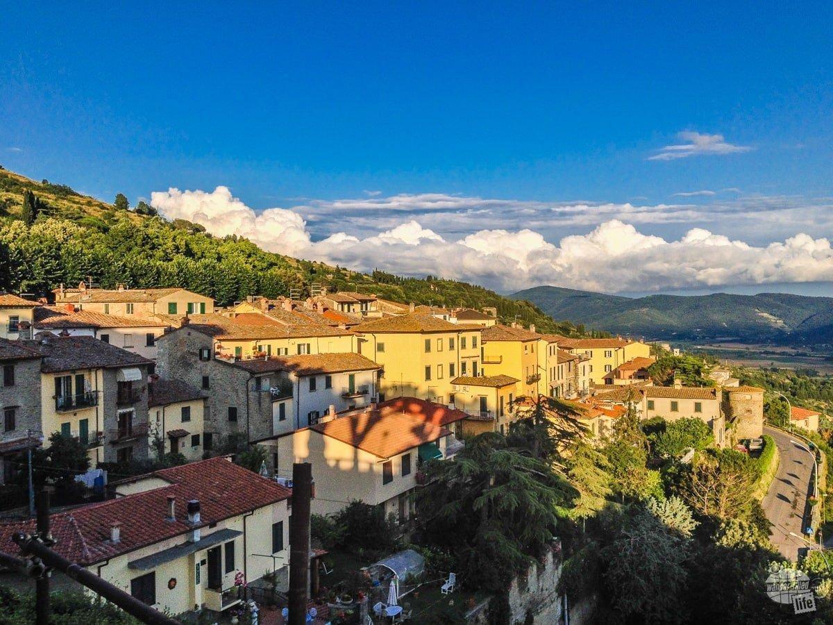 On the hillside of Cortona
