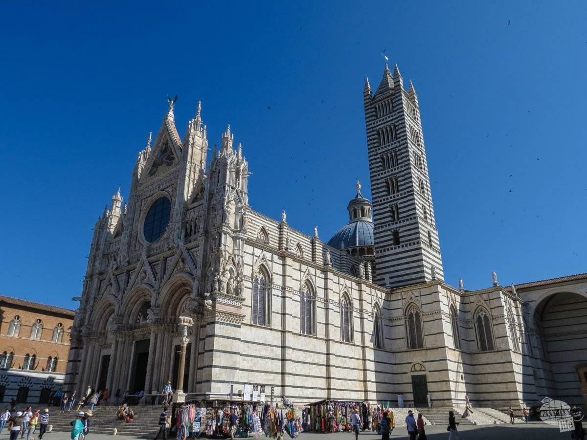 The Duomo of Siena.