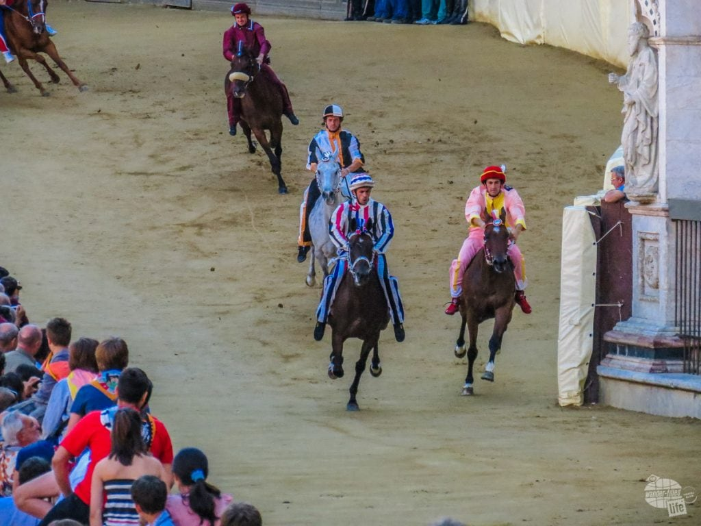 A trial run for The Palio.
