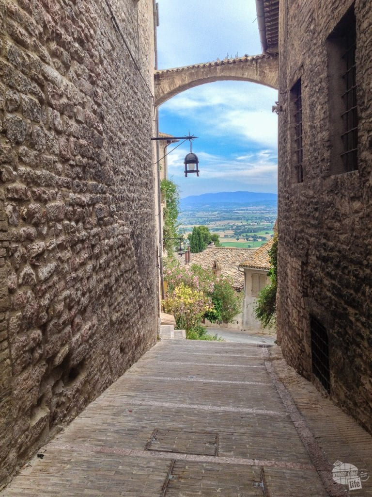 The Umbrian Hills from Assisi.