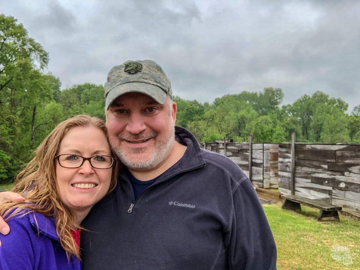 Selfie at Vicksburg National Military Park