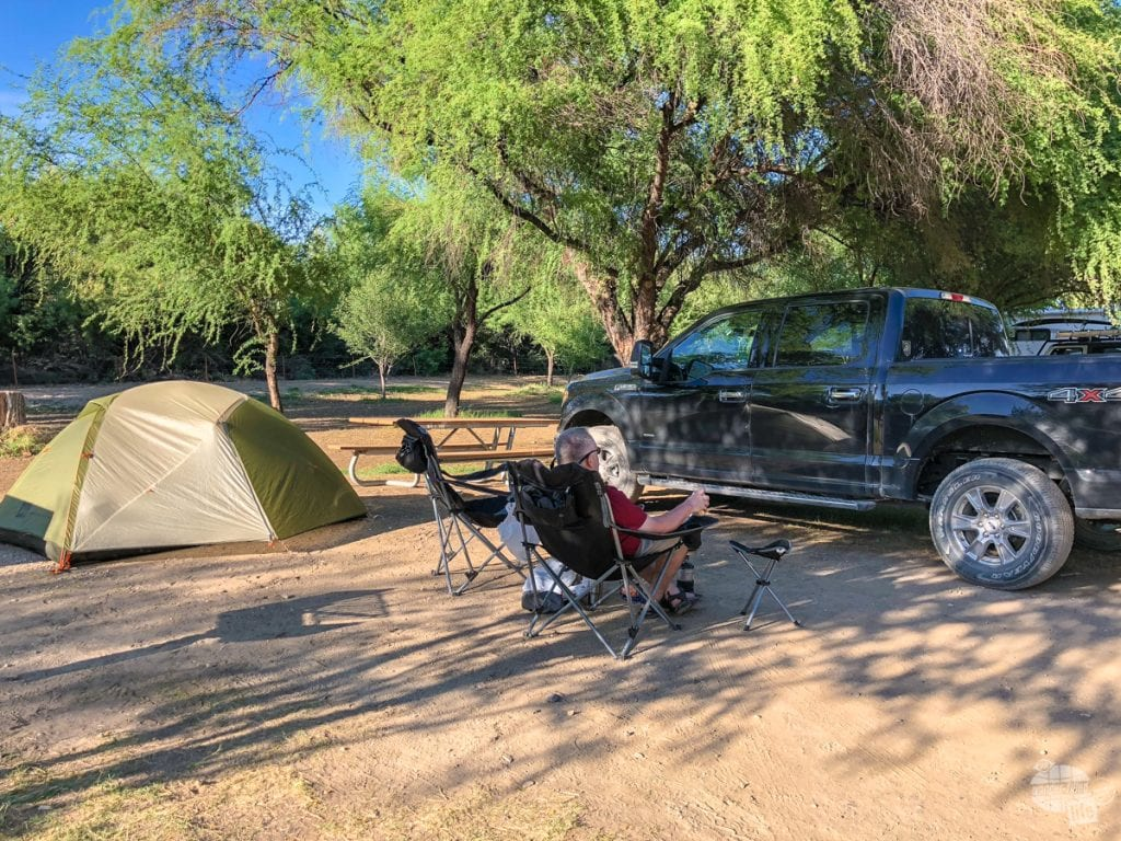 Cottonwood Campground in Big Bend National Park