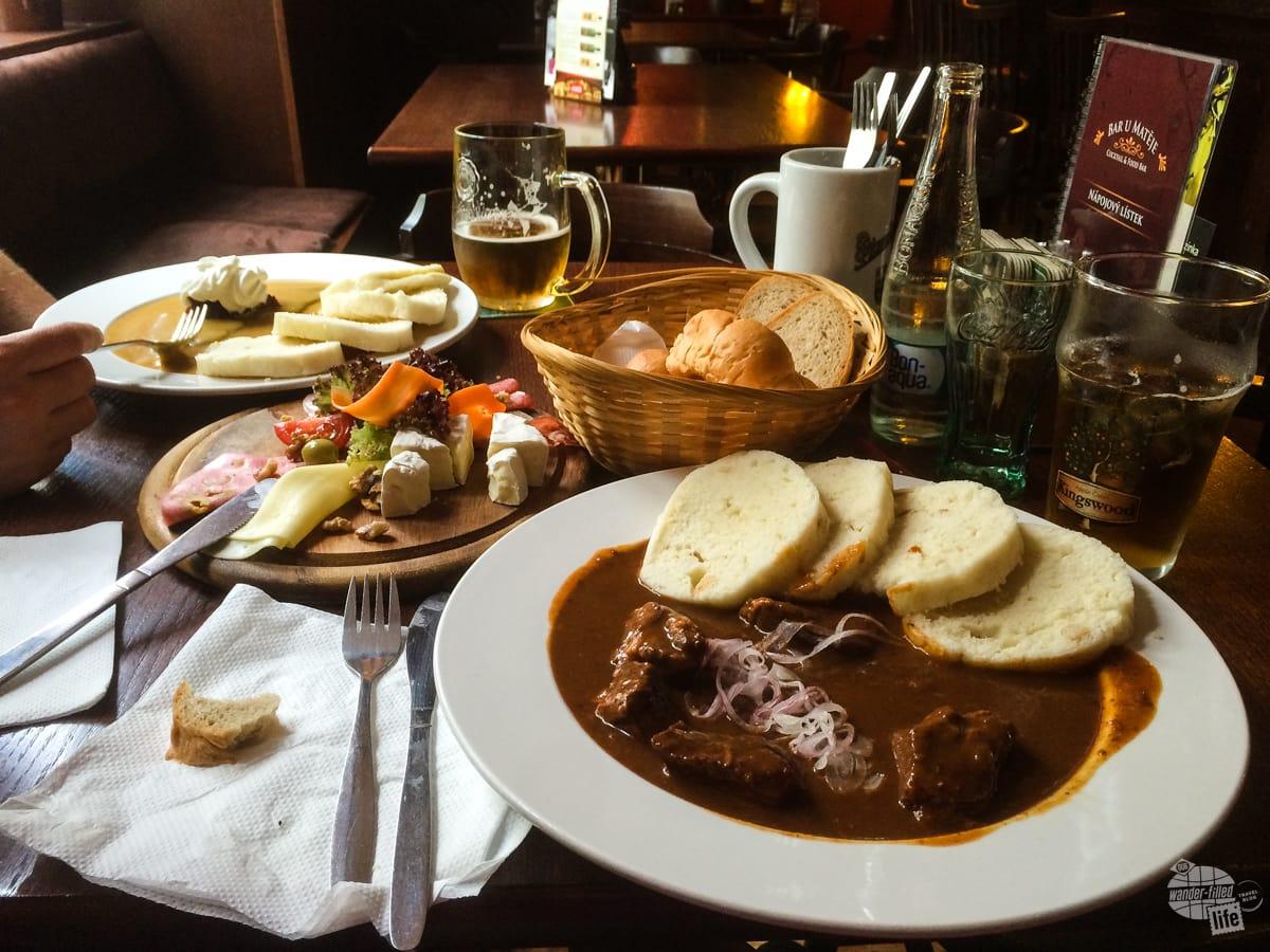 Dinner in Prague