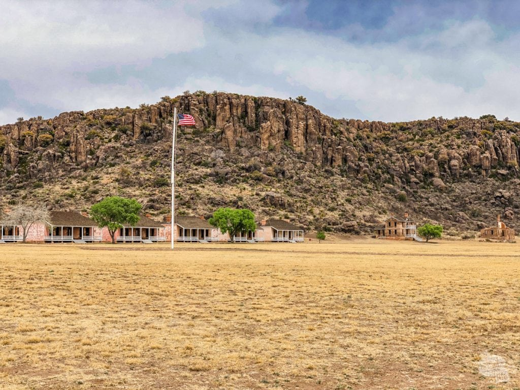 The Parade Ground at Fort Davis NHS