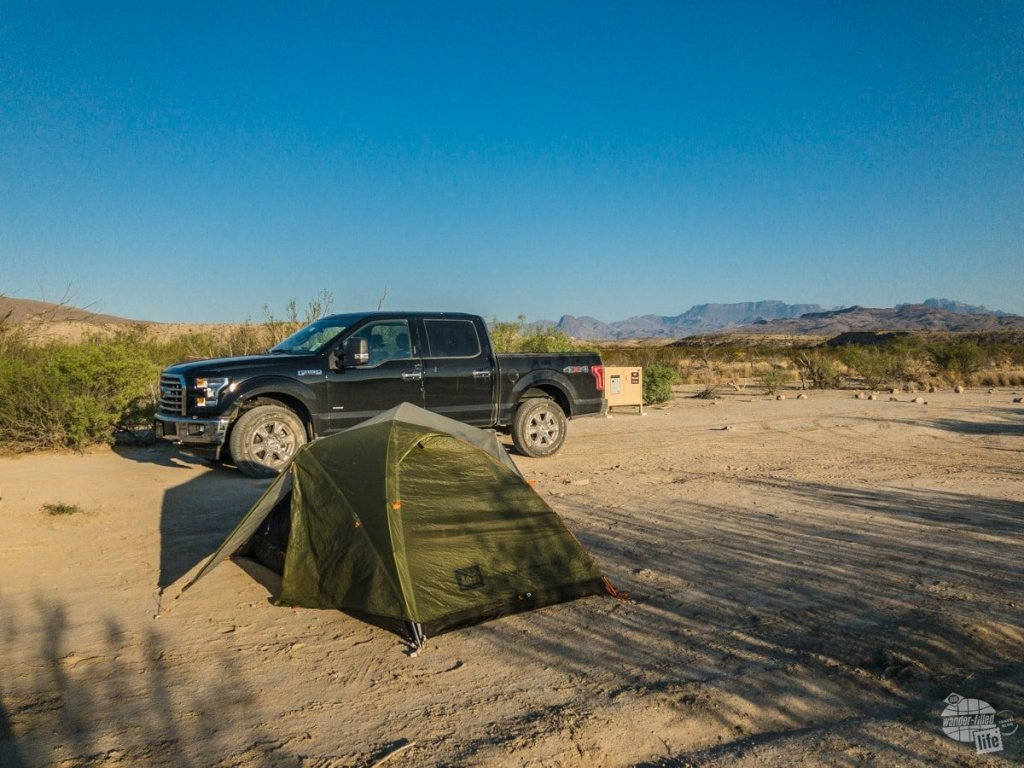Solis #2 campsite