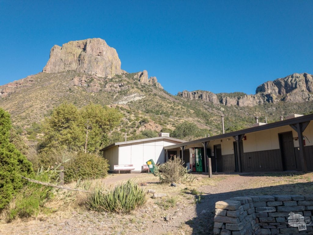 The Chisos Mountains Lodge