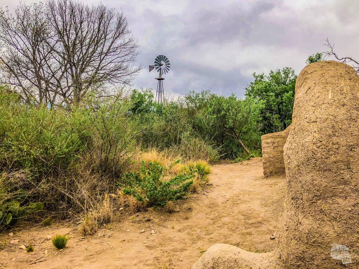 Remains of the Sam Nail Ranch.
