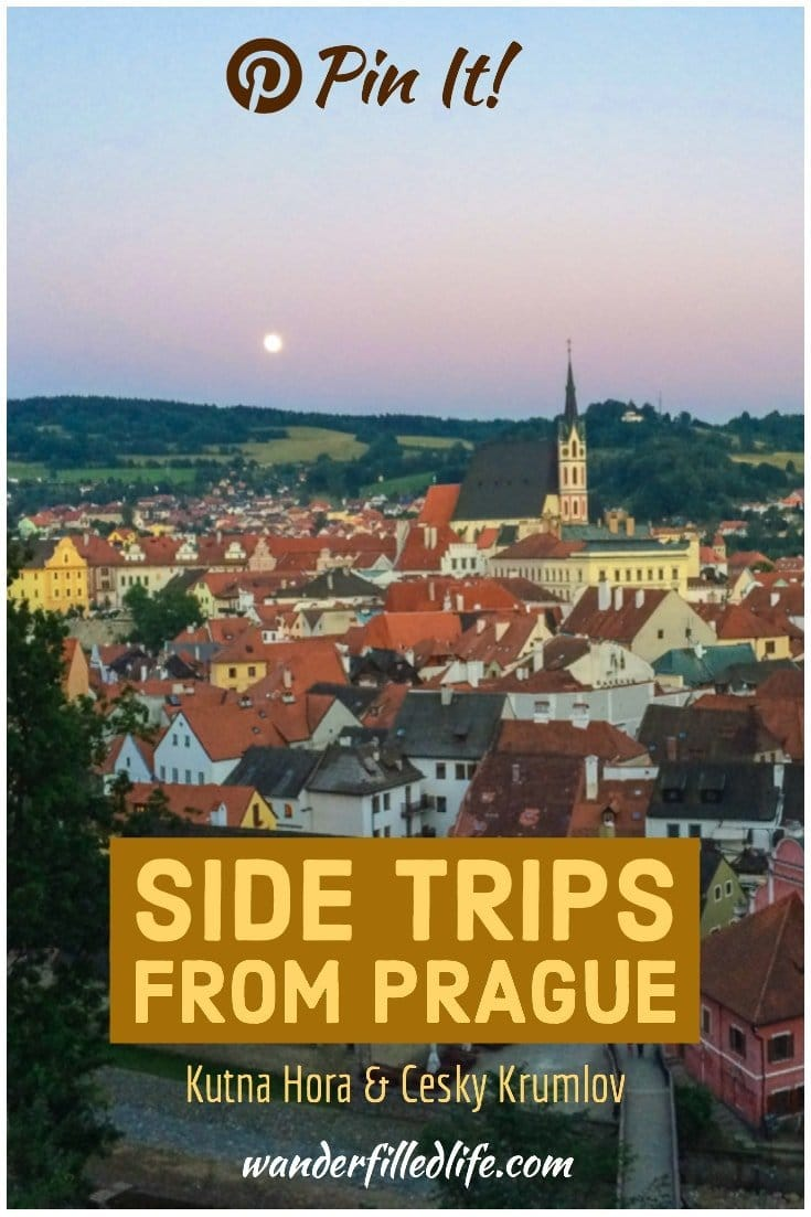 While Prague is certainly a must-see city when visiting the Czech Republic, we absolutely fell in love with the smaller towns of Kutna Hora and Cesky Krumlov. These side trips from Prague will get you out of the big city and into a quirky Bone Church and relaxing along the Vltava River.