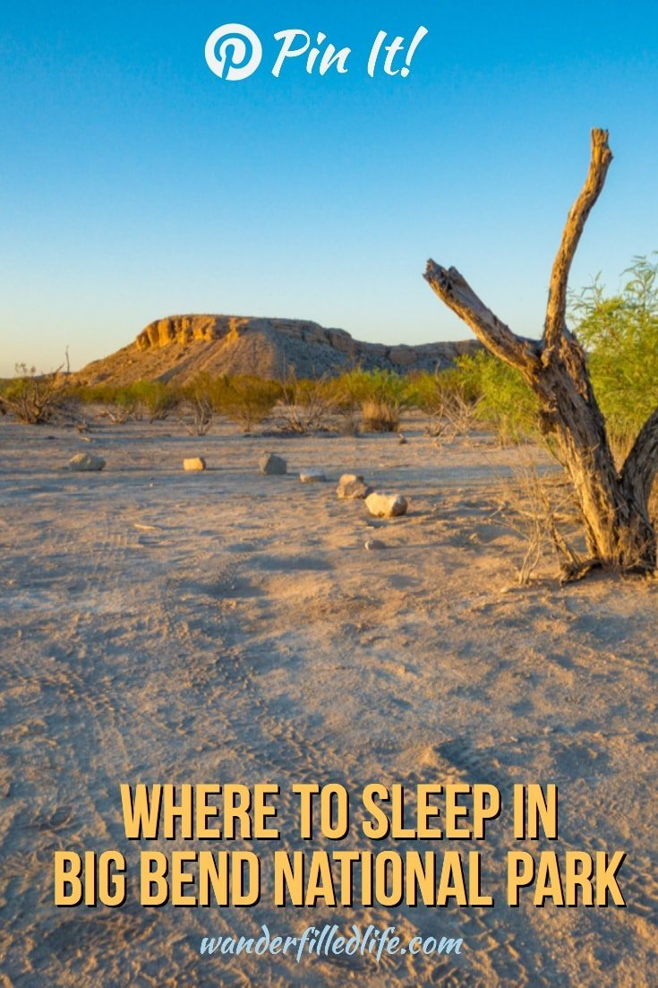 Due to its remote location, even a short trip to Big Bend National Park will likely involve an overnight stay. While there is only one lodge within the park, there are many opportunities for camping. We take a look at the various options, from Chisos Basin Lodge to primitive camping in the backcountry.