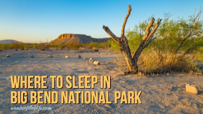 Where to Stay in Big Bend