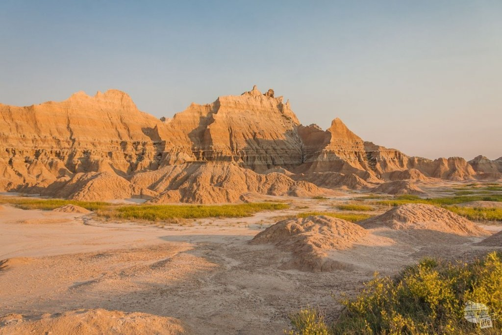 Badlands NP at Sunrise