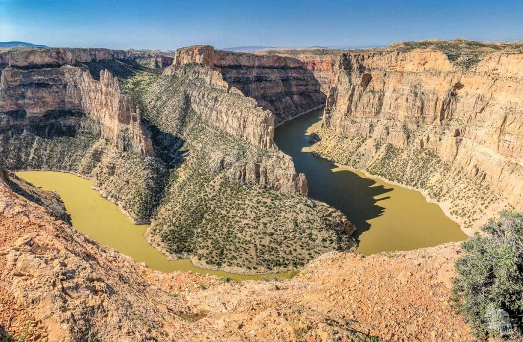 Bighorn Canyon from the Devil Canyon Overlook