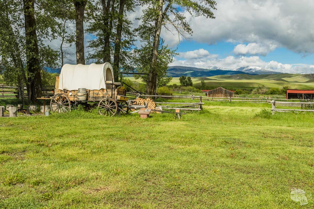 Chuck Wagon at Grant-Kohrs Ranch NHS.