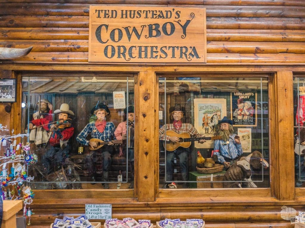 The Cowboy Orchestra at Wall Drug