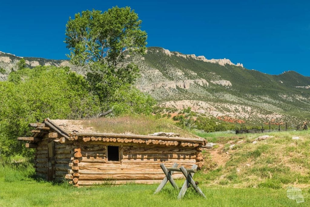 Ewing-Snell Ranch in Bighorn Canyon