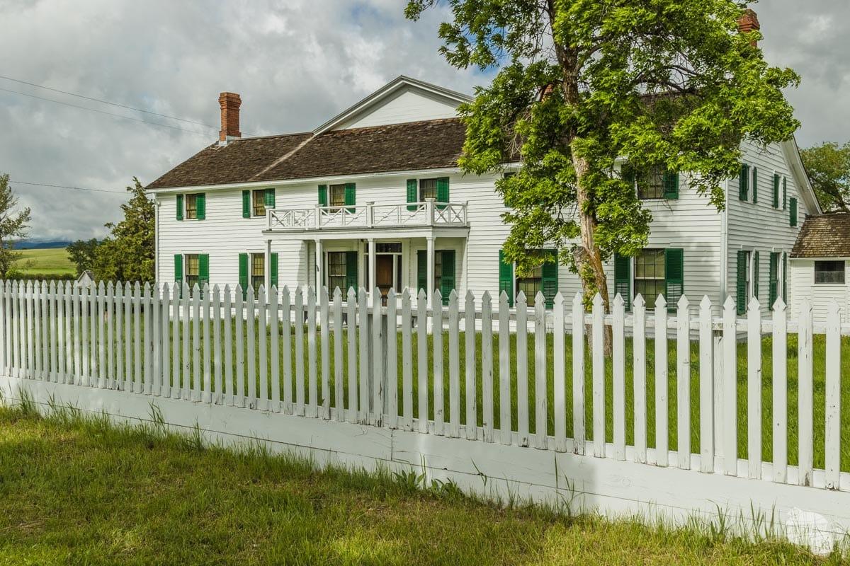 House at Grant-Kohrs Ranch NHS