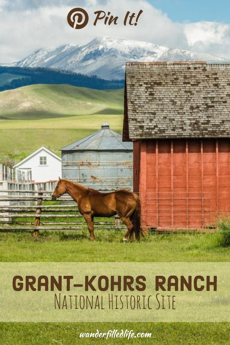 Grant-Kohrs Ranch NHS commemorates the American West of the late 1800s and early 1900s. From a well-appointed ranch house to cattle, it has it all!