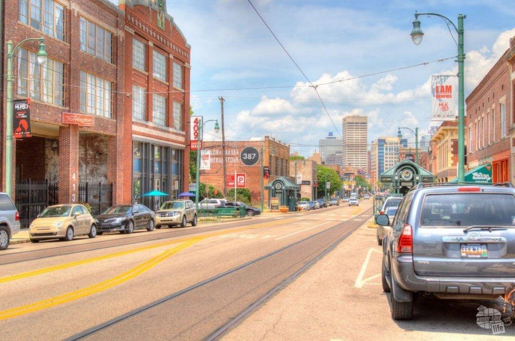Main Street in Memphis