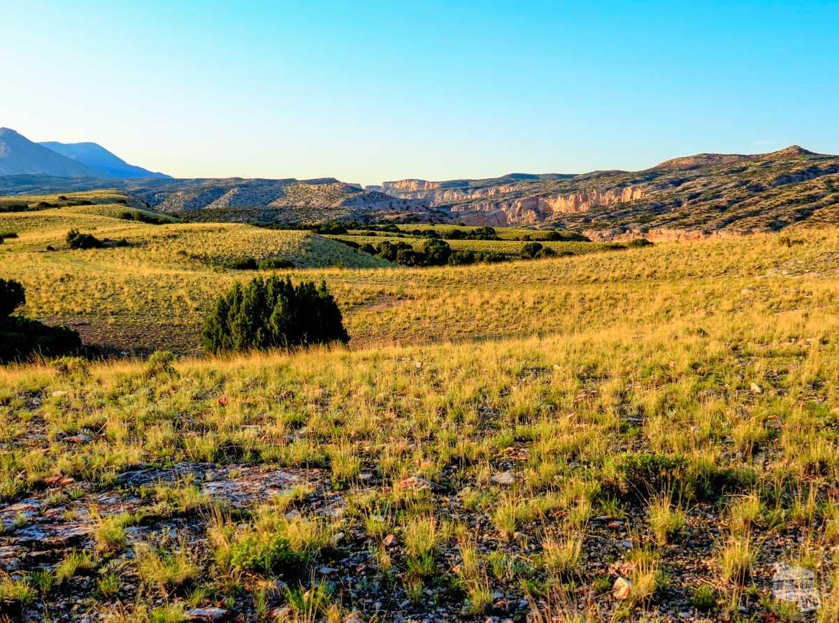 Plains above Bighorn Canyon