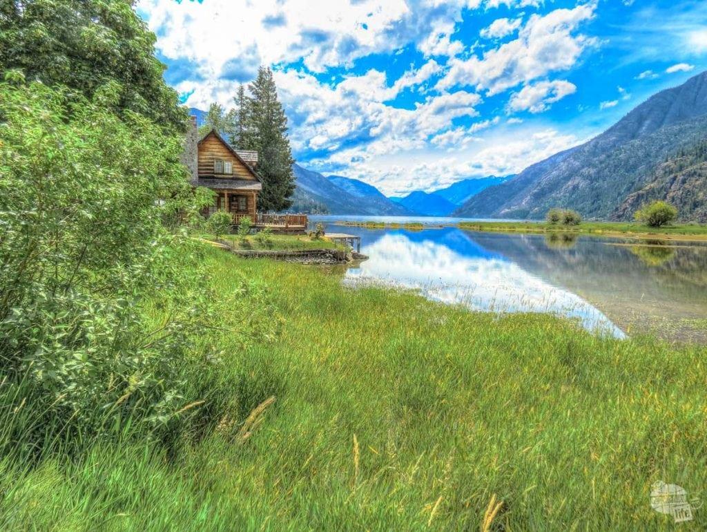 Cabin on Lake Chelan