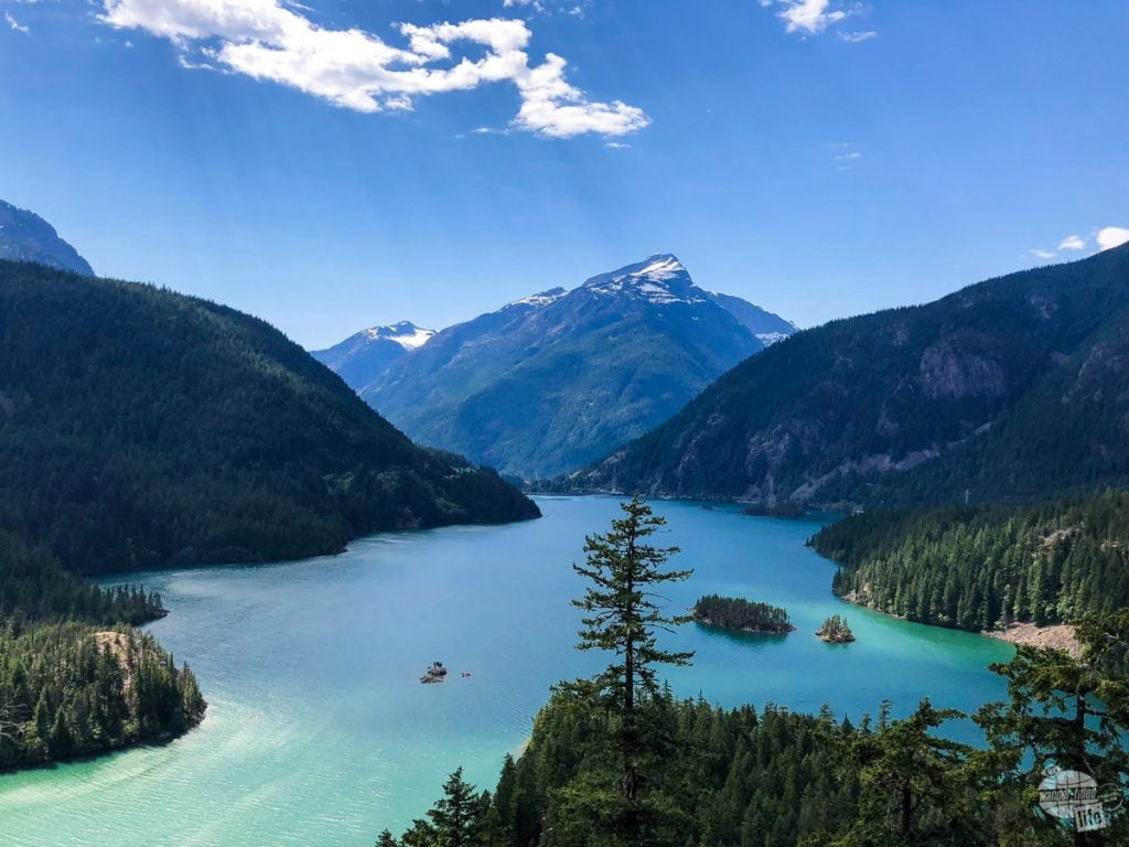Diablo Lake at North Cascades