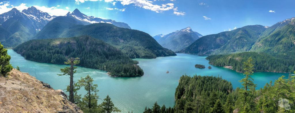 Diablo Lake in the North Cascades National Park Complex