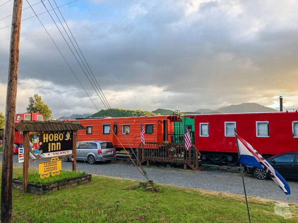 A really neat idea: build an inn out of railcars.