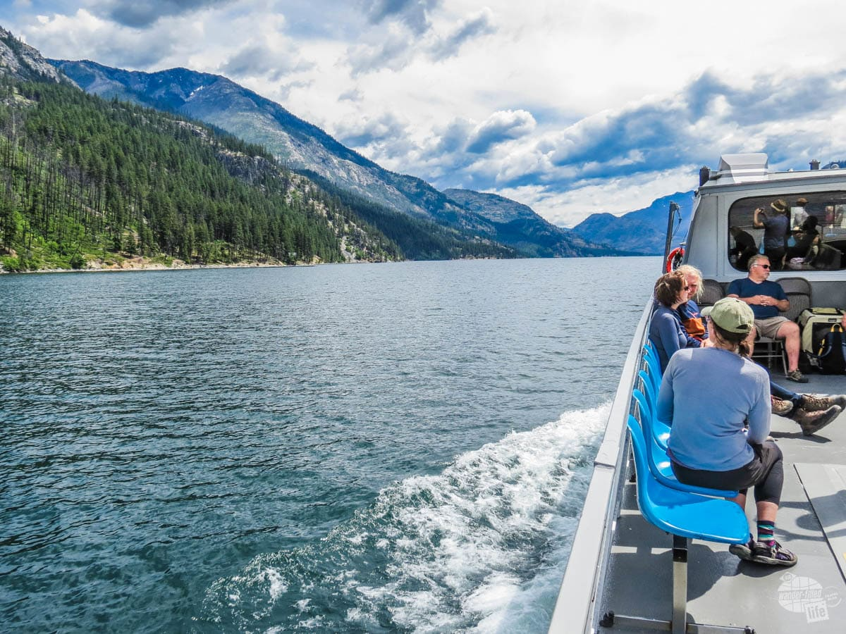 The back deck of the slow boat is more open air and offers better picture-taking opportunities.