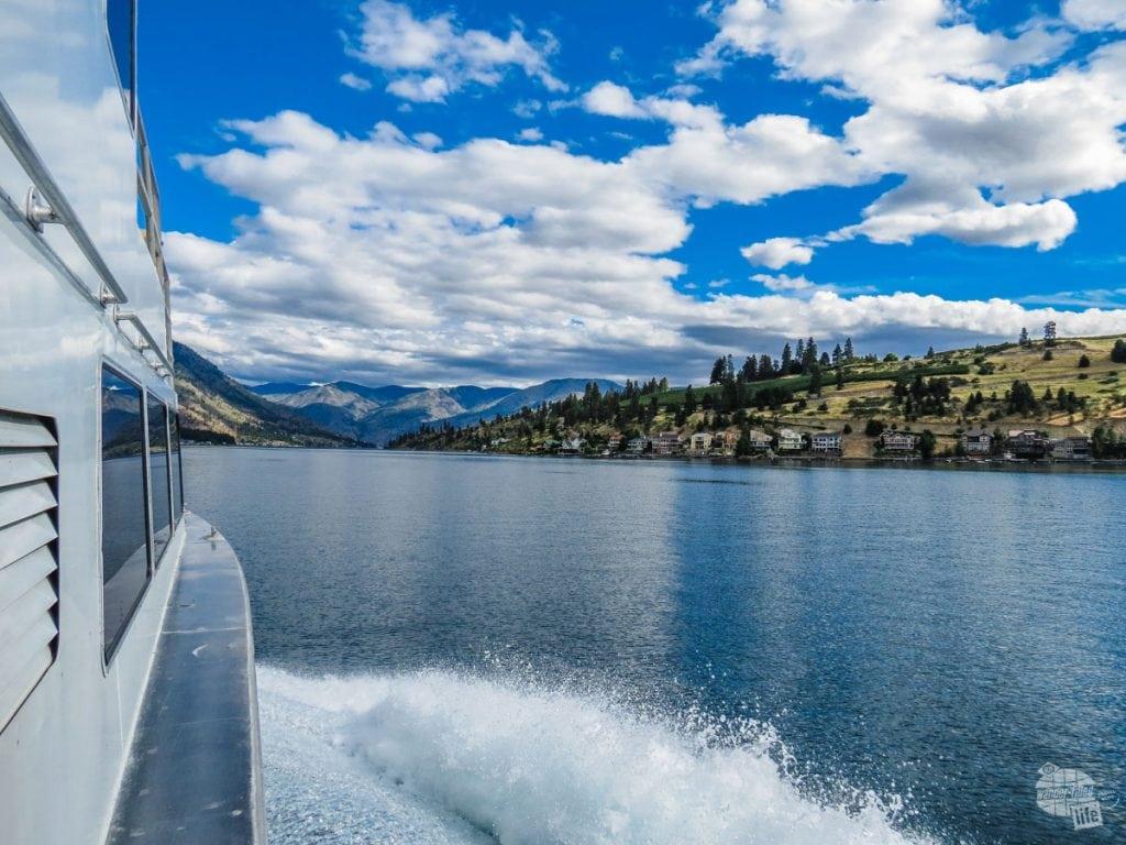 Ferry to Lake Chelan NRA