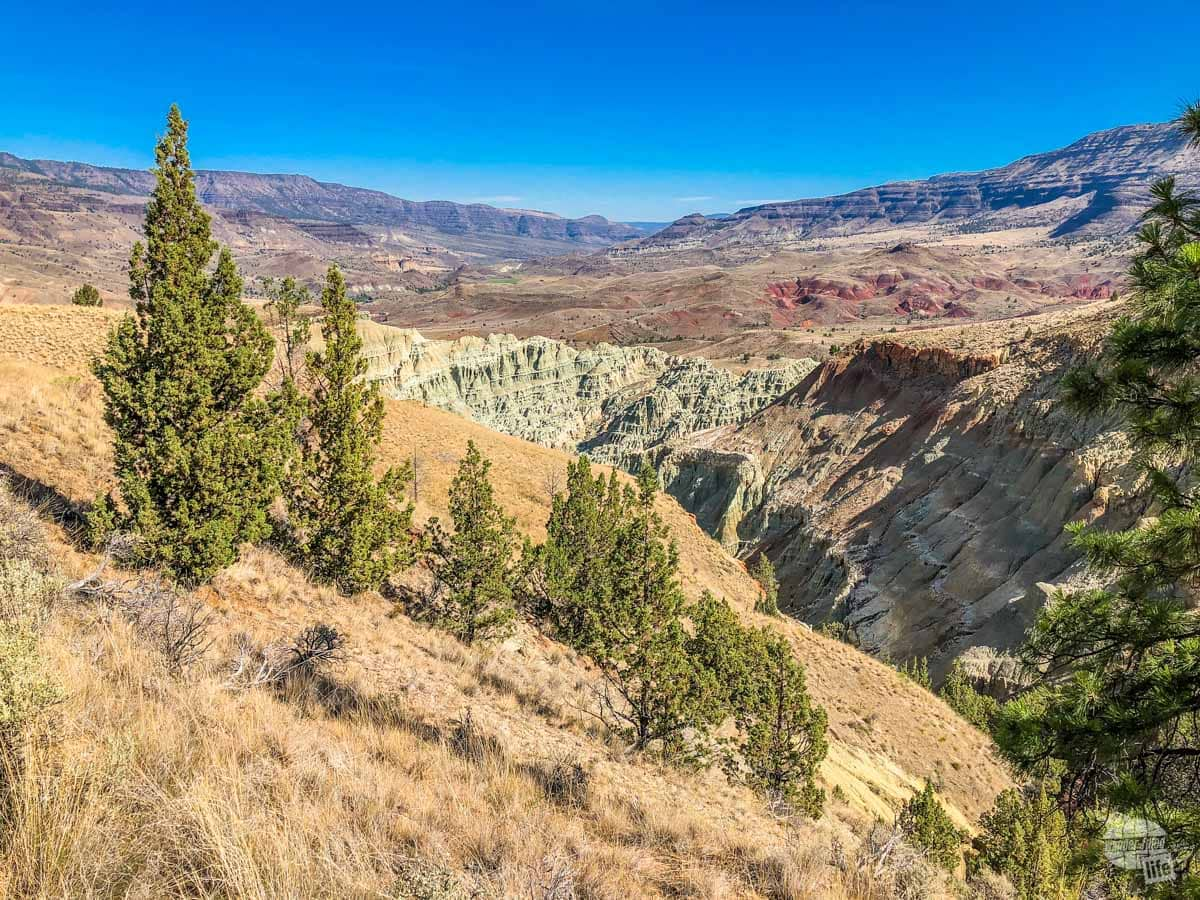 The rugged beauty of the Blue Basin