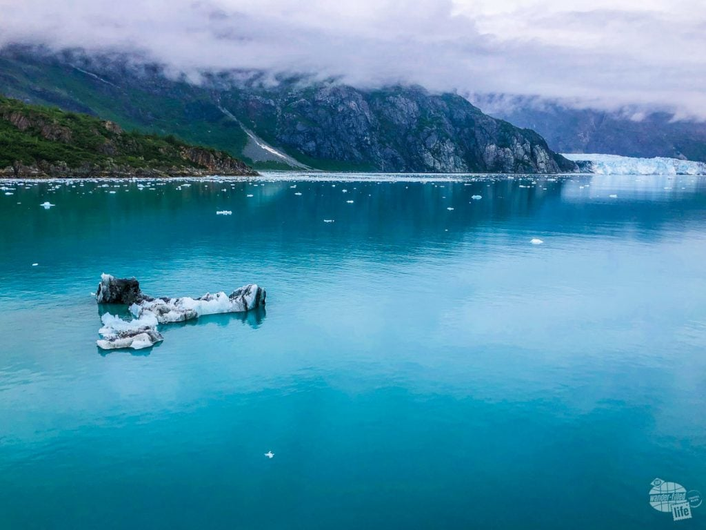 Approaching Margerie Glacier in Glacier Bay National Park.