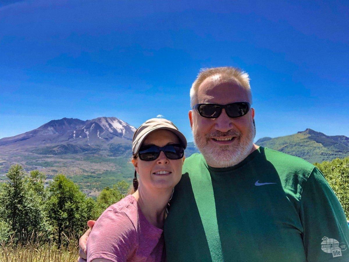 Mt. St. Helens Selfie