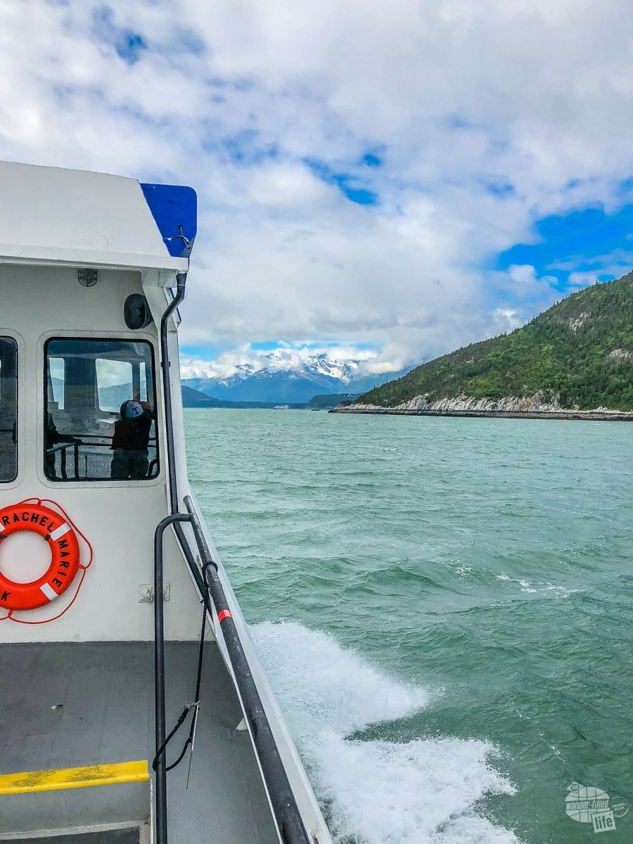 On the ferry to Haines
