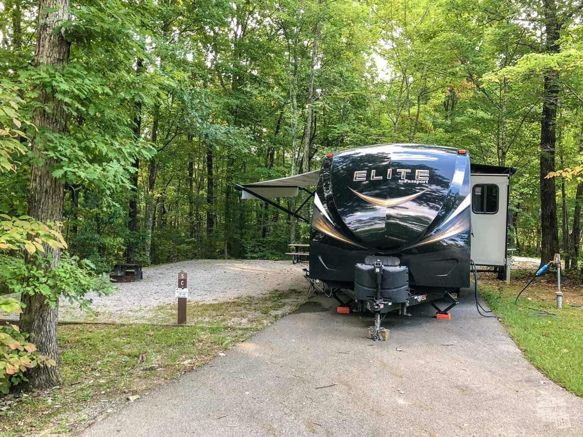 Bandy Creek Campground at Big South Fork NRRA