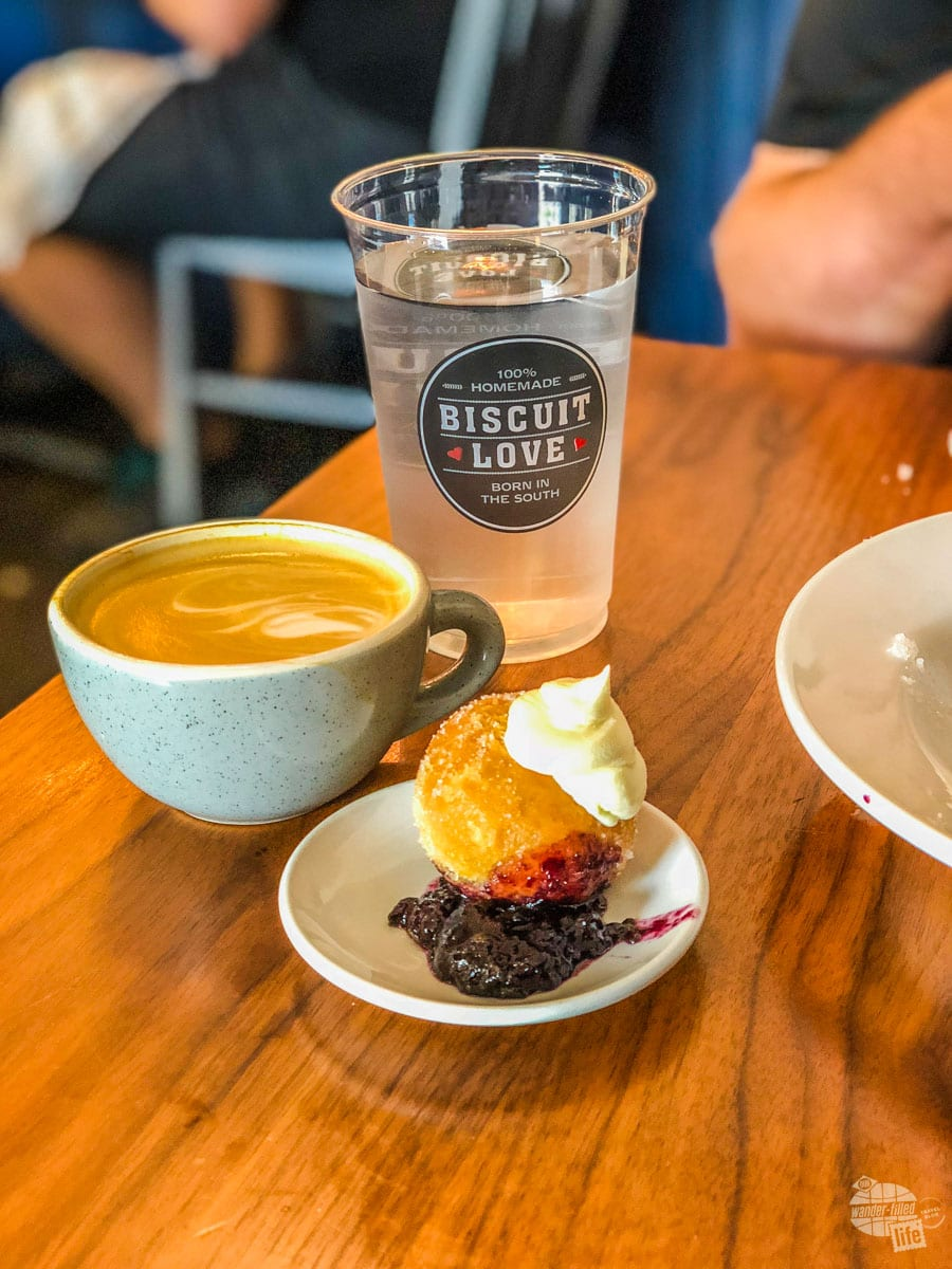 A bonut at Biscuit Love