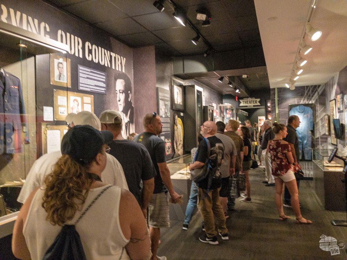 Inside the Johnny Cash Museum