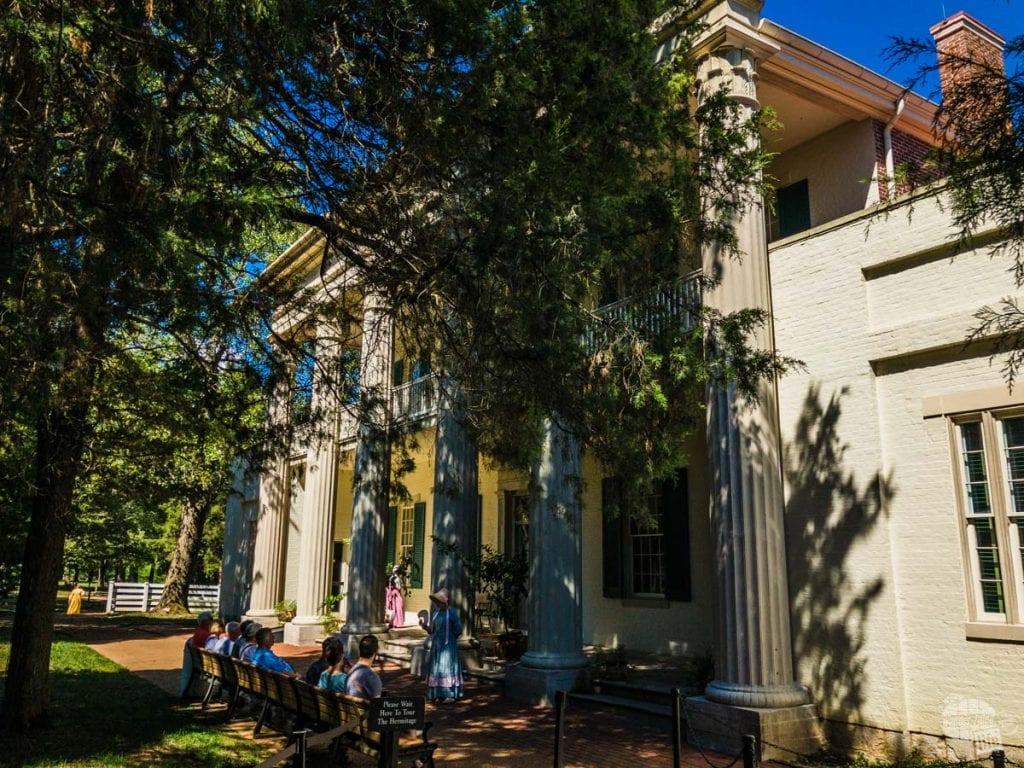 Andrew Jackson's home, The Hermitage.