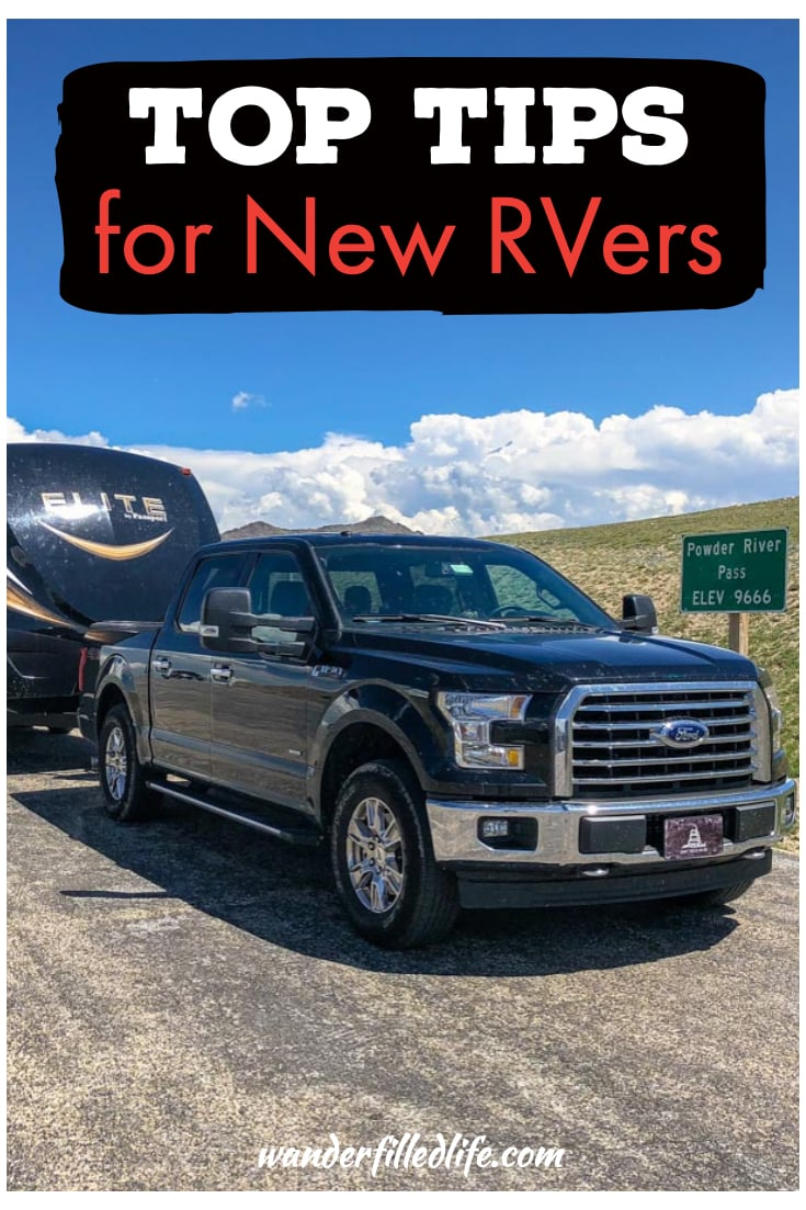 Just bought an RV or thinking of getting one? Check our our tips for new RVers to help you prepare for your journey and know what to expect on the road.