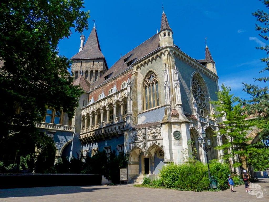 Vajdahynyad Castle in Budapest