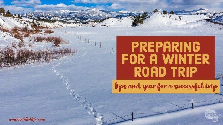 Preparing for a Winter Road Trip