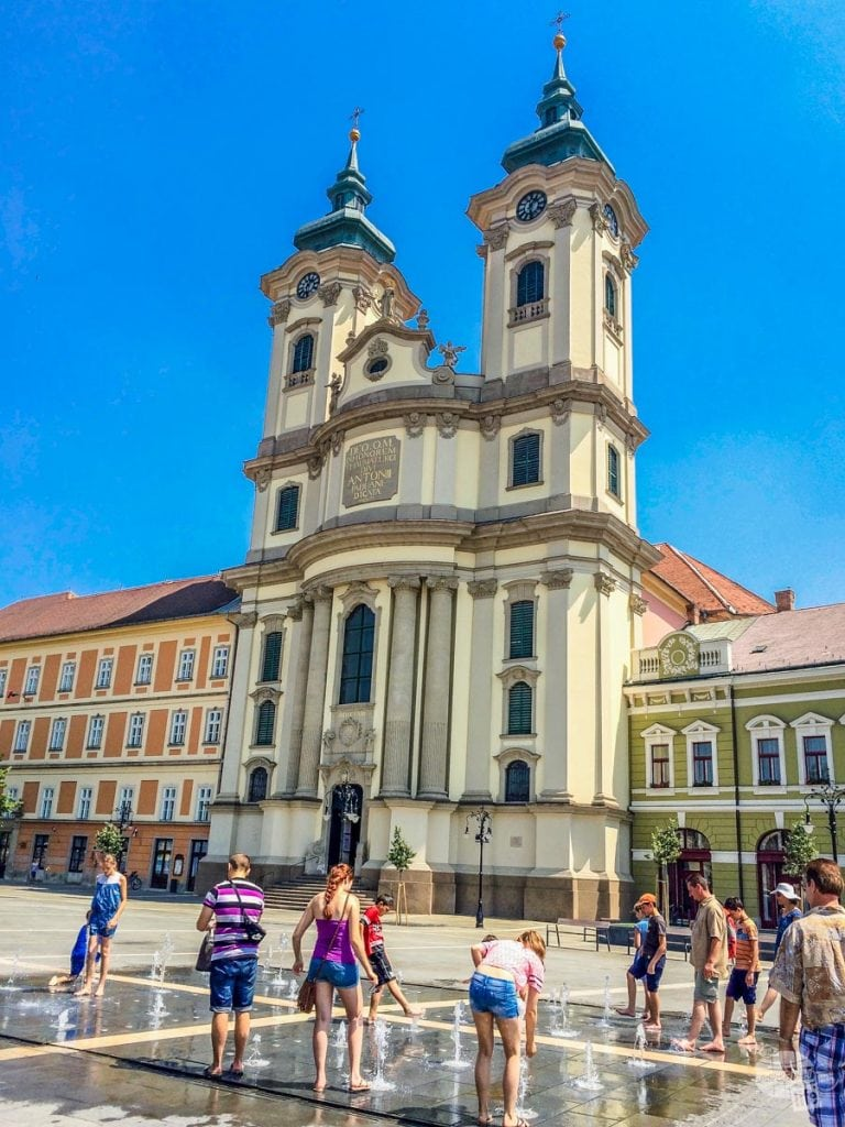 A hot day in Eger