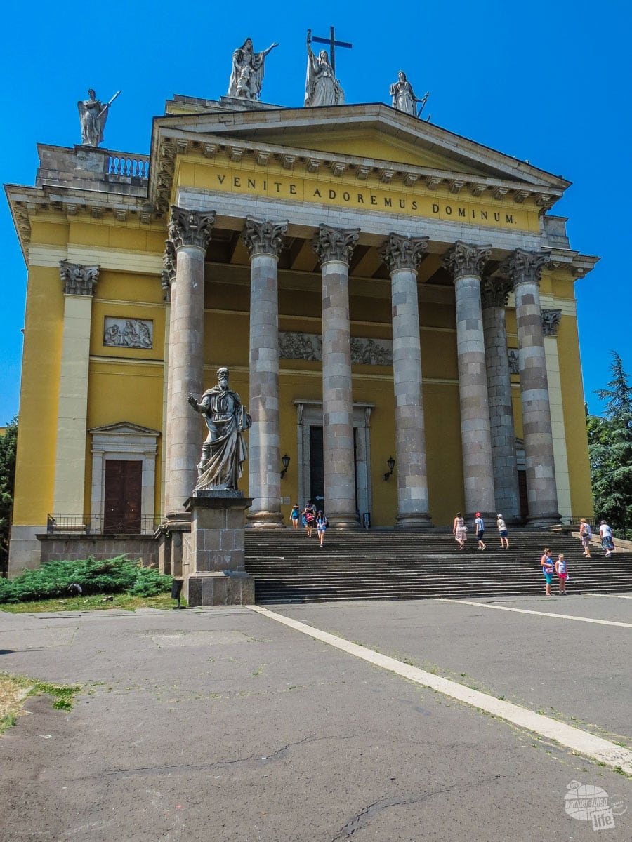 Basilica of St. John the Apostle is the main church in Eger.