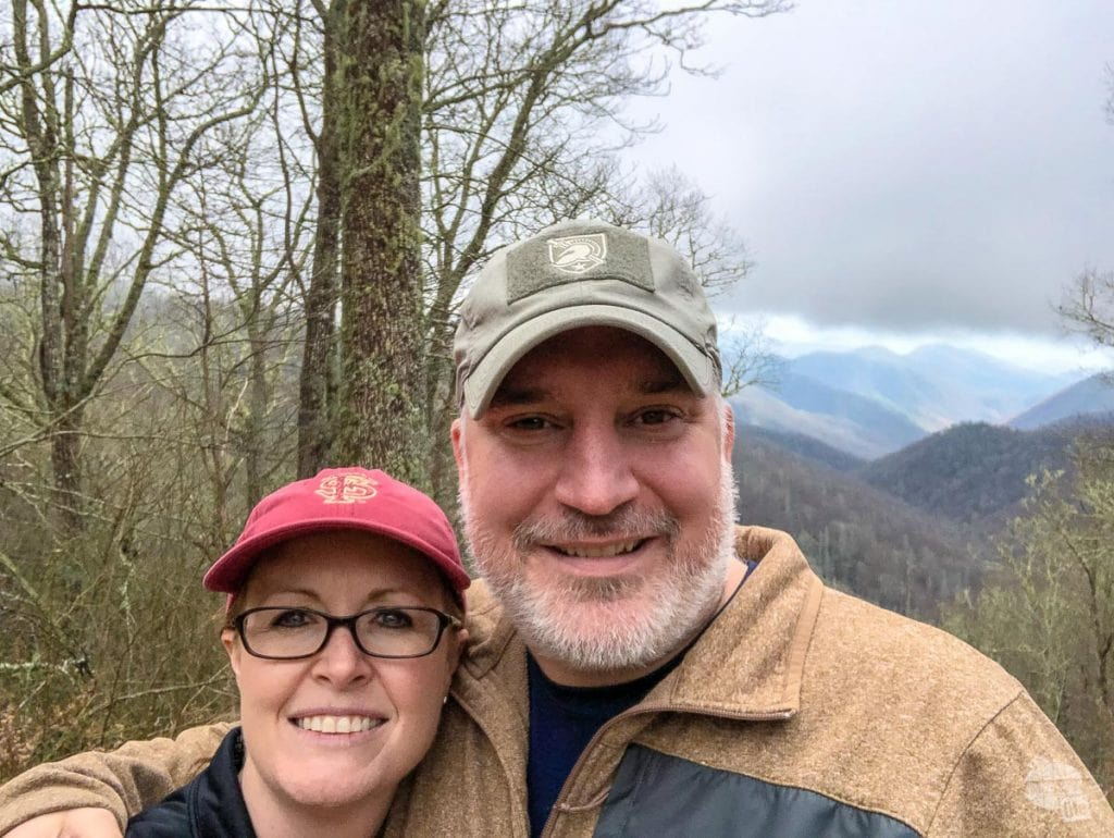 Selfie in Great Smoky Mountains National Park