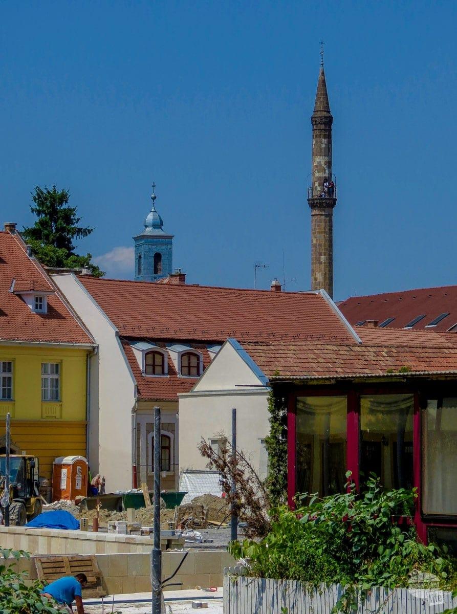 The Minaret of Eger