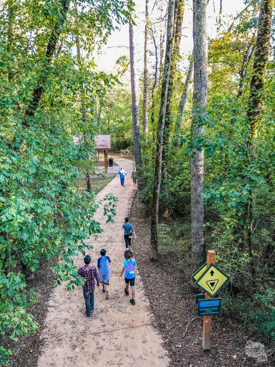 Woodstock walking trails