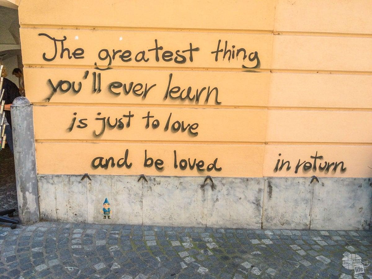 Grafitti in Ljubljana